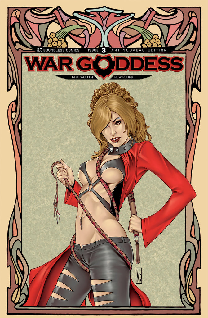 WAR GODDESS #3  Art Nouveau order incentive