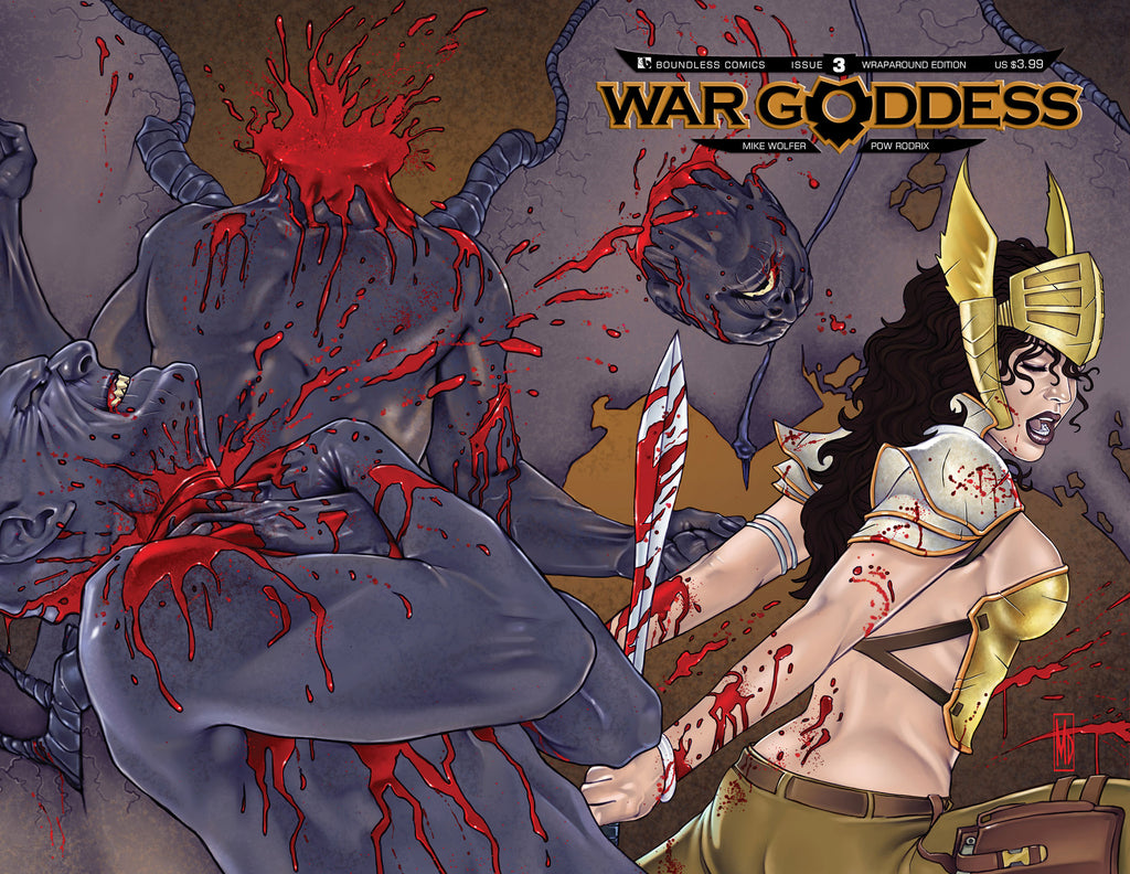 WAR GODDESS #3 Wraparound