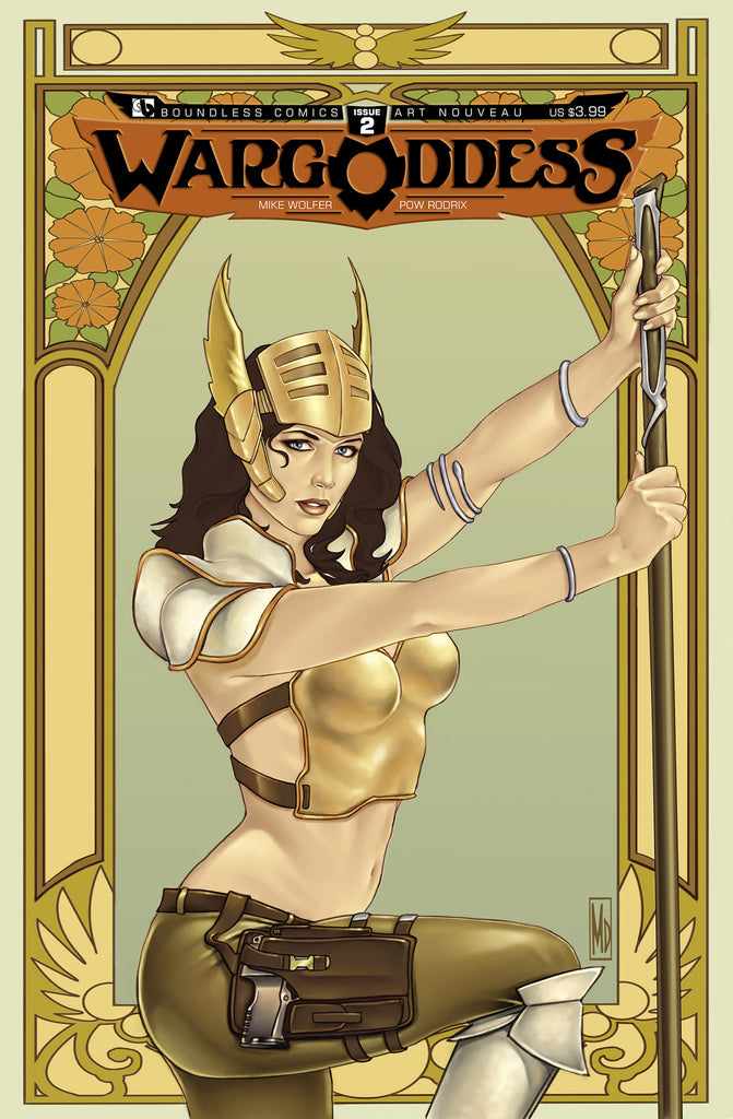 WAR GODDESS #2  Art Nouveau order incentive