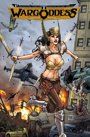 WAR GODDESS #2 - Digital Copy