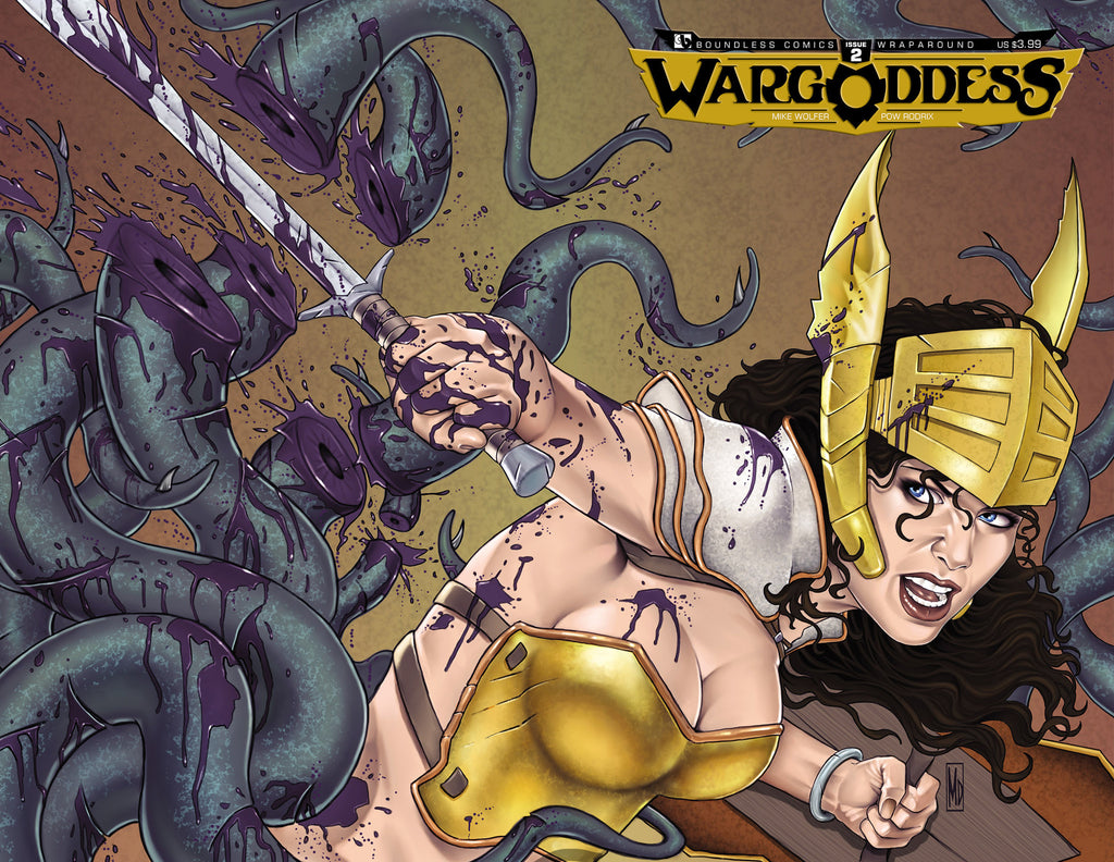WAR GODDESS #2 Wraparound