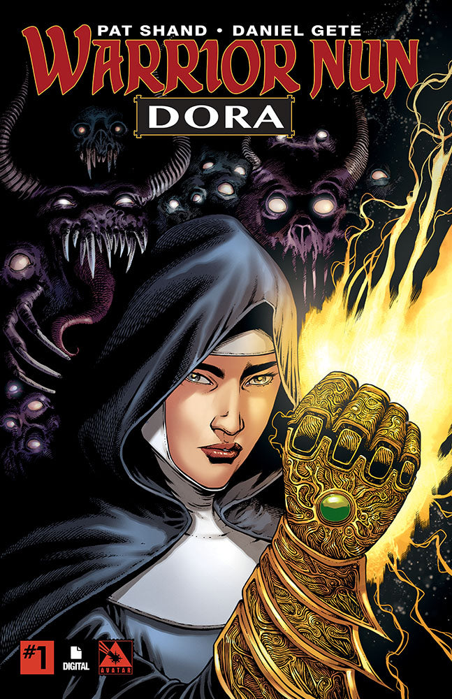 WARRIOR NUN: DORA #1 - Digital Copy