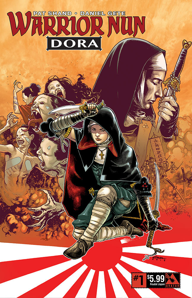 WARRIOR NUN: DORA #1 Feudal Japan