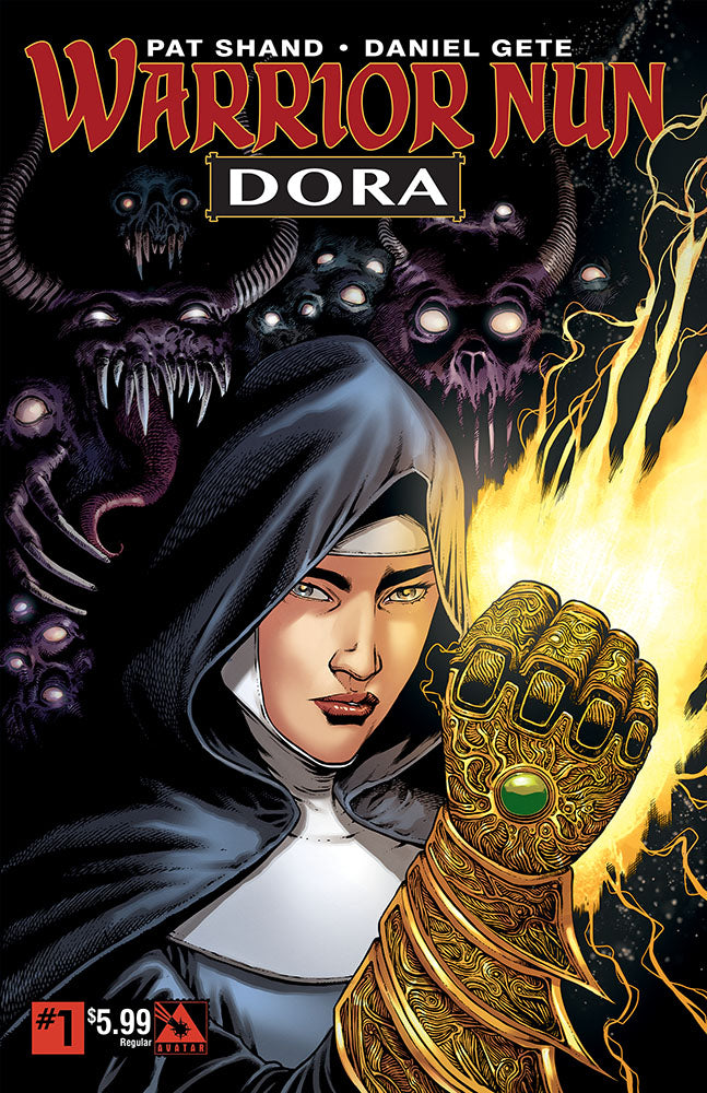 WARRIOR NUN: DORA #1