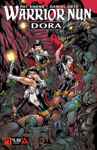 WARRIOR NUN: DORA #1 Unleashed