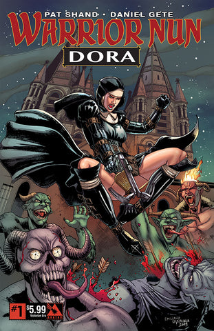 WARRIOR NUN: DORA #1 Victorian Era