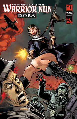 WARRIOR NUN: DORA #1 World War II