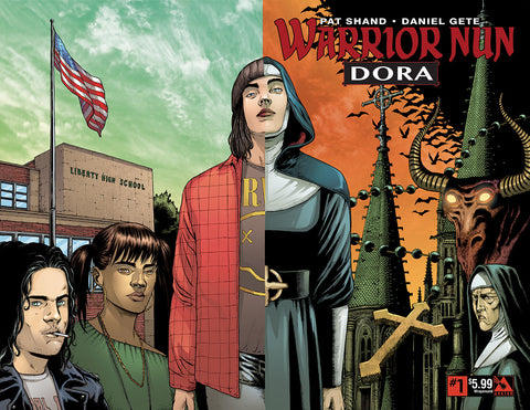 WARRIOR NUN: DORA #1 Wraparound