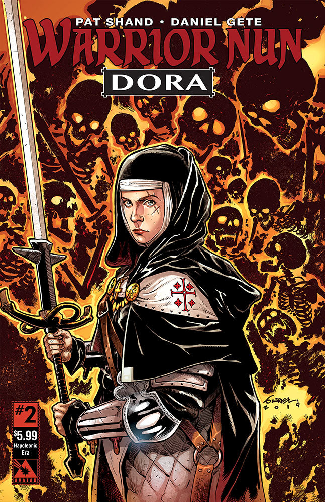WARRIOR NUN: DORA #2 Napoleonic Era