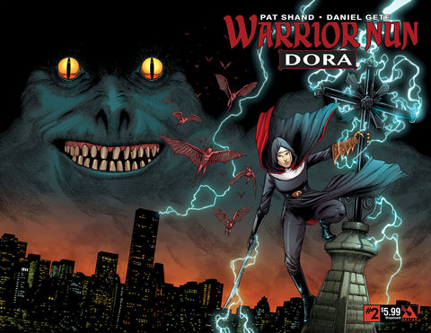 WARRIOR NUN: DORA #2 Wraparound