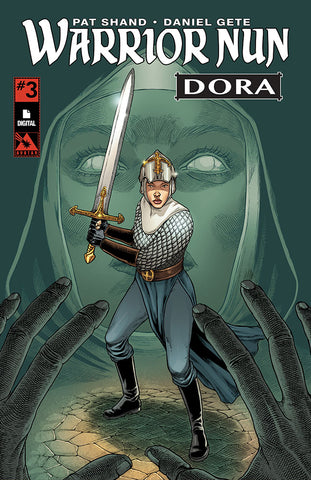 WARRIOR NUN: DORA #3 - Digital copy