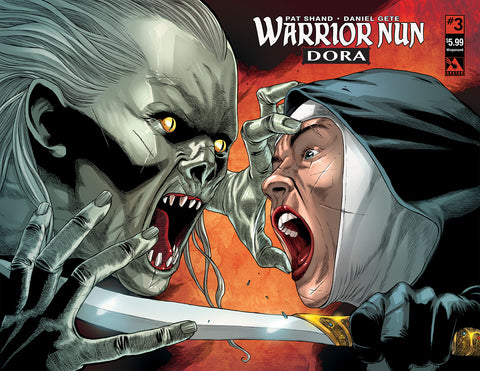 WARRIOR NUN: DORA #3 Wraparound