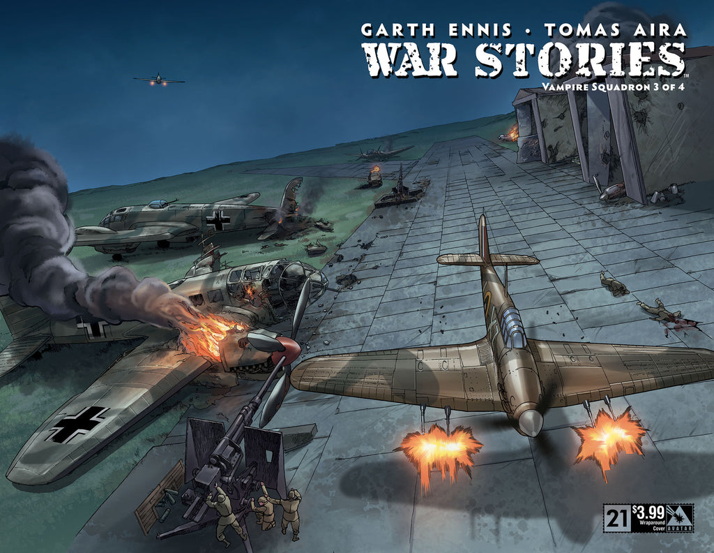 WAR STORIES #21 Wraparound