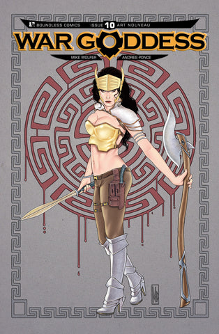 WAR GODDESS #10 Art Nouveau