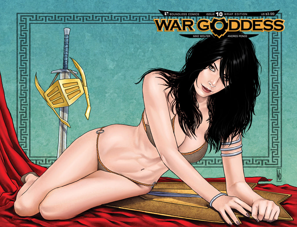 WAR GODDESS #10 WRAPAROUND