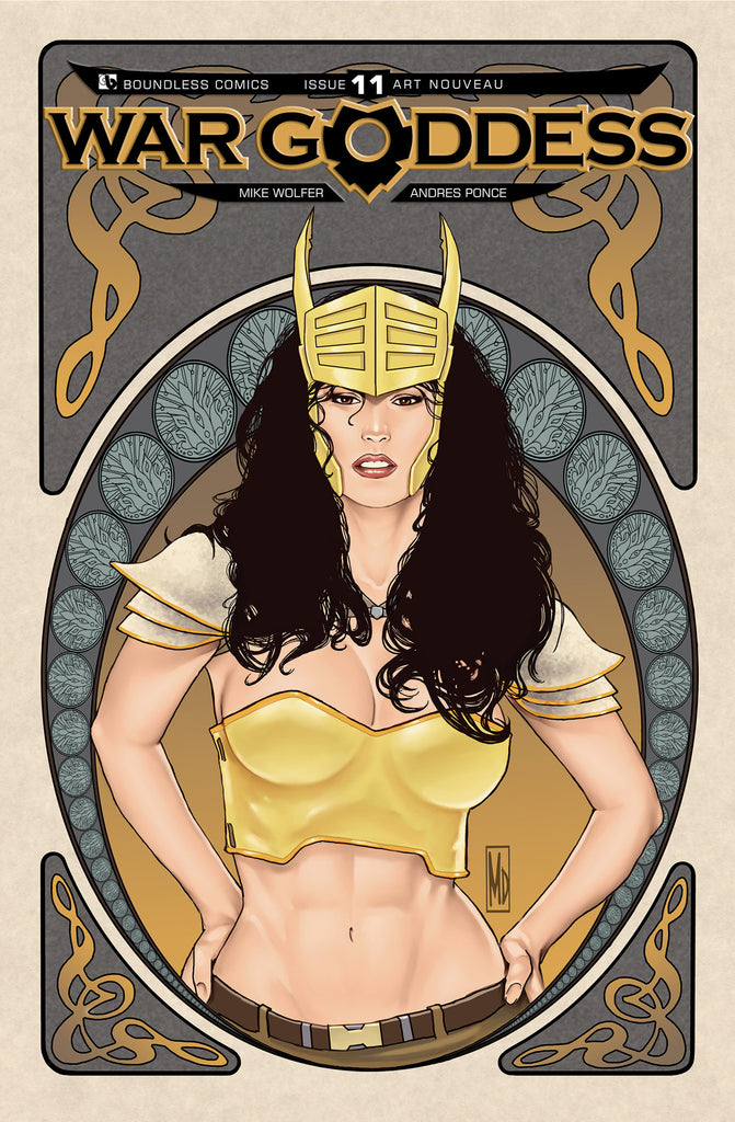 WAR GODDESS #11 ART NOUVEAU