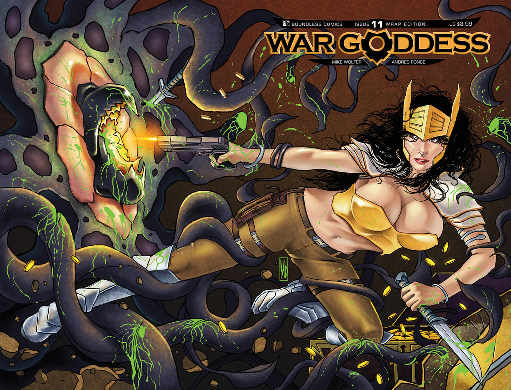 WAR GODDESS #11 WRAPAROUND