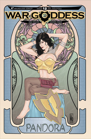 WAR GODDESS #12 Art Nouveau