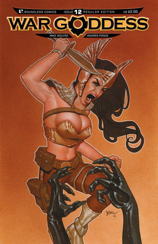WAR GODDESS #12 - Digital Copy