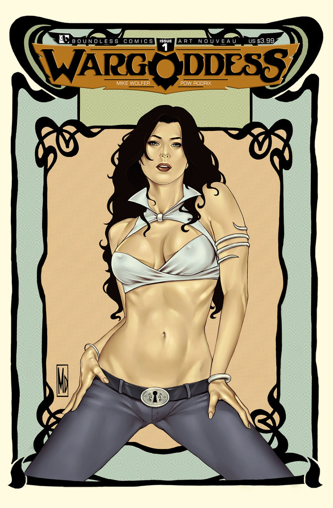 WAR GODDESS #1  Art Nouveau