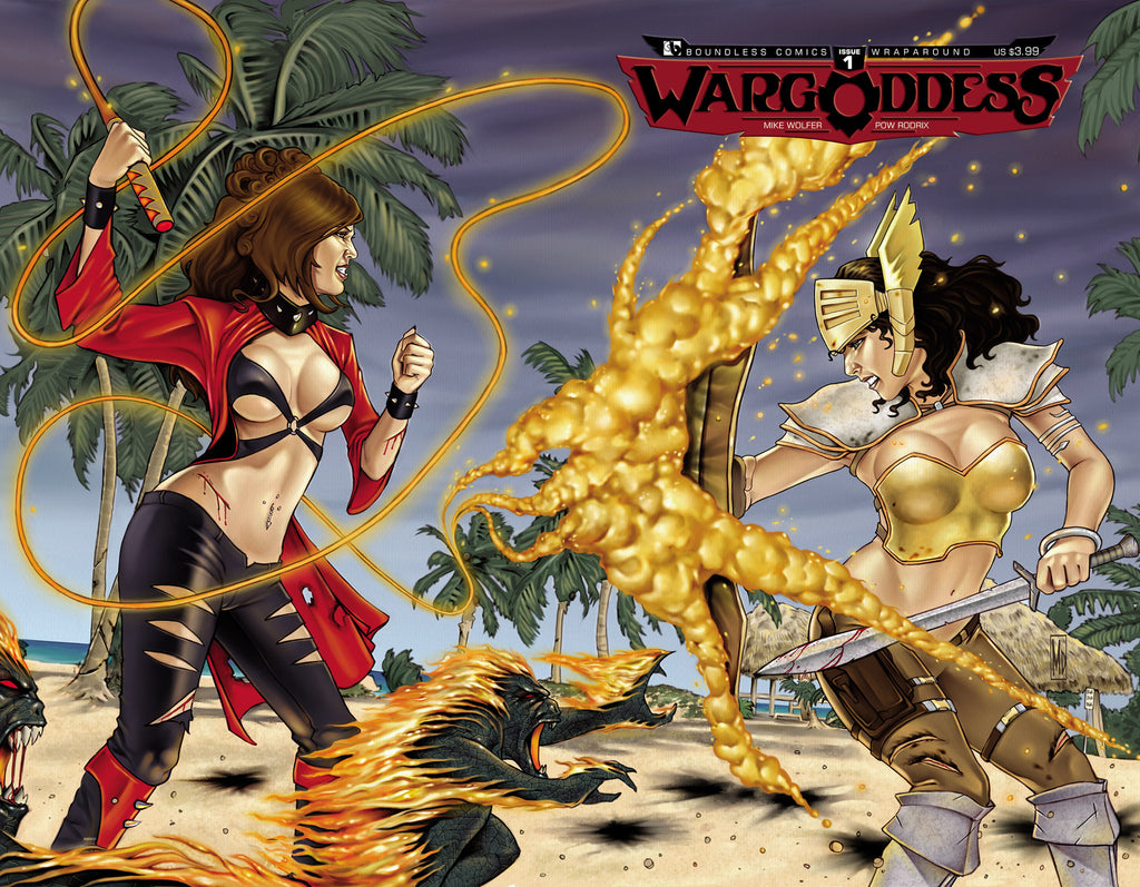 WAR GODDESS #1 Wraparound