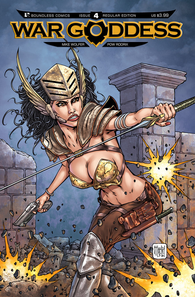 WAR GODDESS #4 - Digital Copy