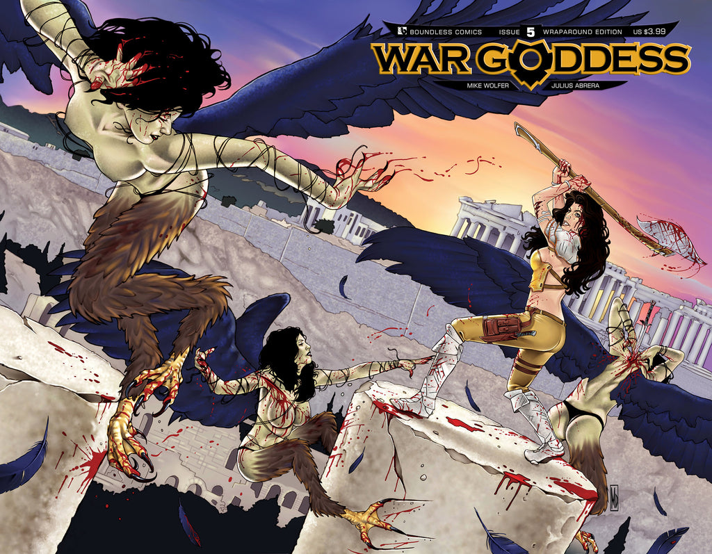 WAR GODDESS #5 Wraparound