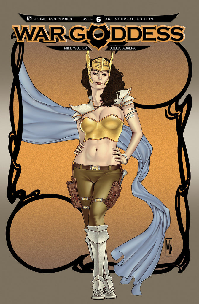 WAR GODDESS #6 Art Nouveau