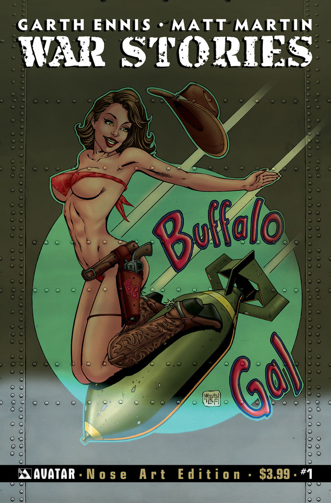 WAR STORIES #1 Good Girl Nose Art