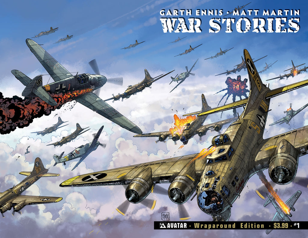 WAR STORIES #1 Wraparound