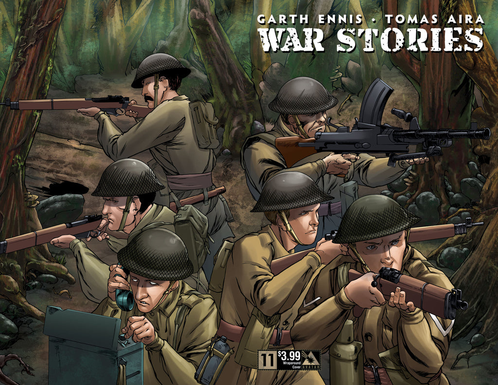 WAR STORIES #11 Wraparound