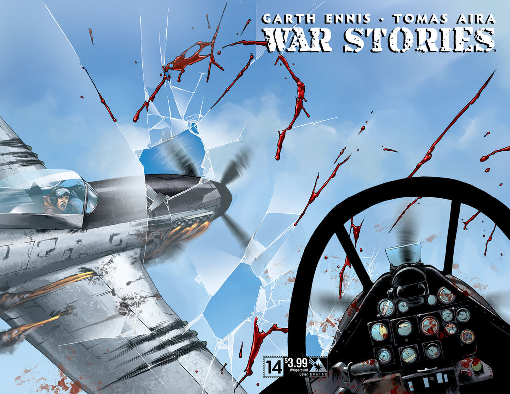 WAR STORIES #14 Wraparound