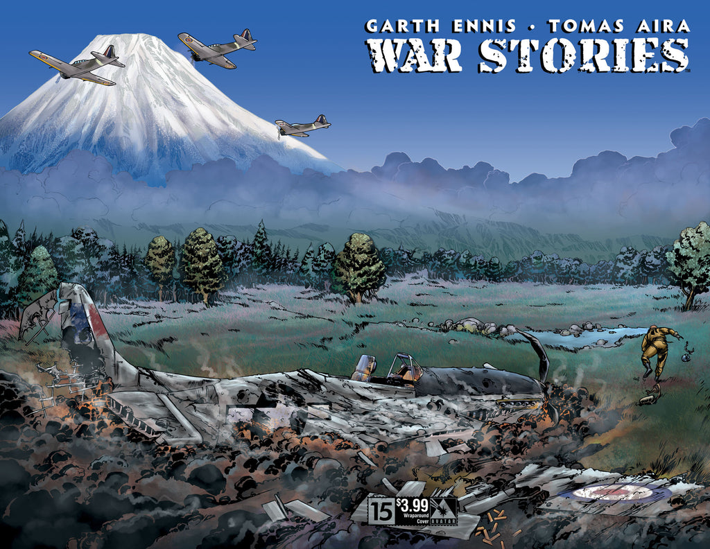 WAR STORIES #15 Wraparound