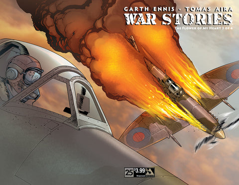 WAR STORIES #25 Wraparound