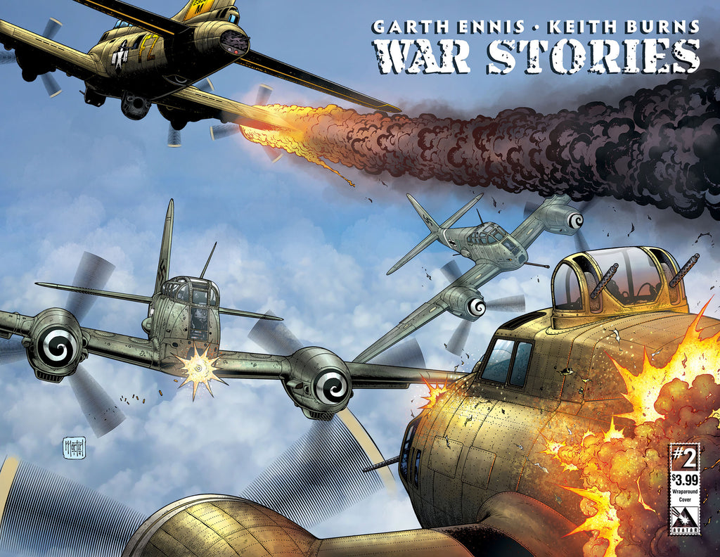 WAR STORIES #2 Wraparound