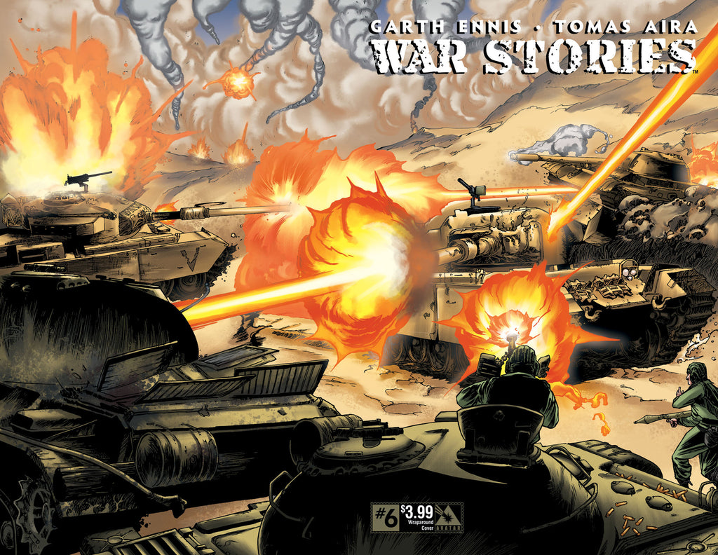 WAR STORIES #6 Wraparound