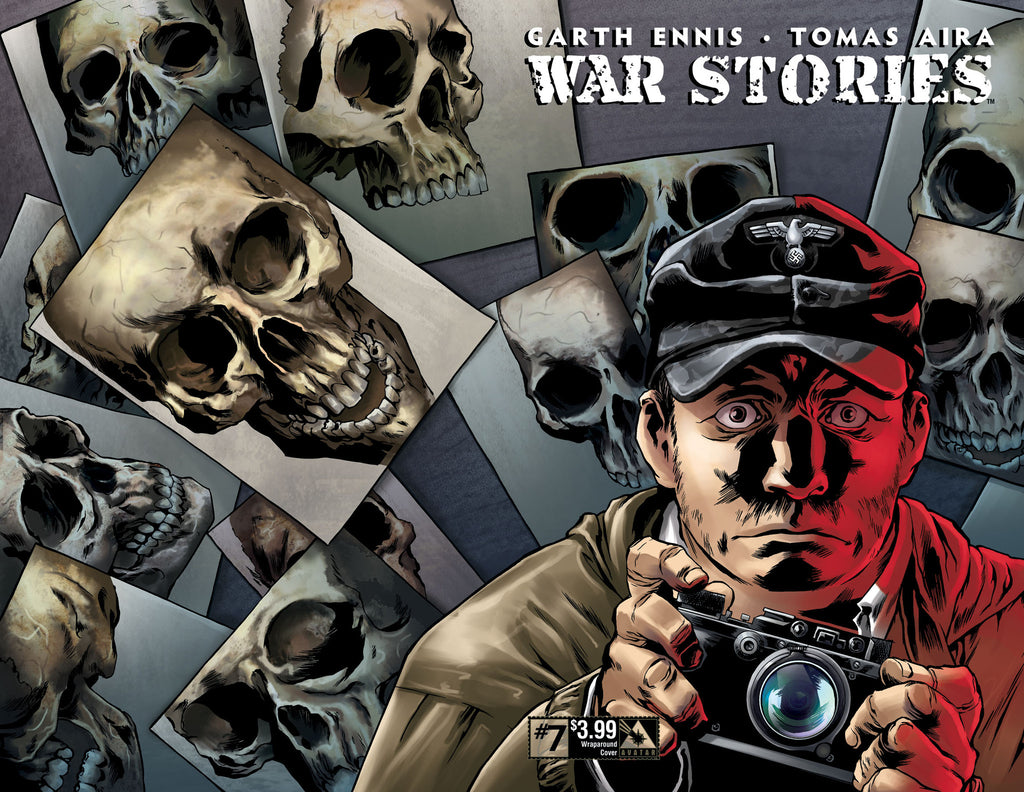 WAR STORIES #7 Wraparound