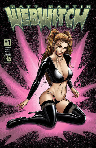 WEBWITCH #1 Kickstarter Costume Change -  (7 cover set)