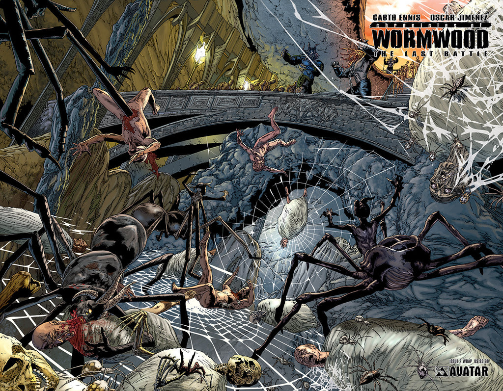 CHRONICLES OF WORMWOOD: The Last Battle #2 Wraparound
