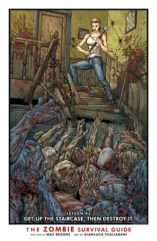 Zombie Survival Guide Print #6