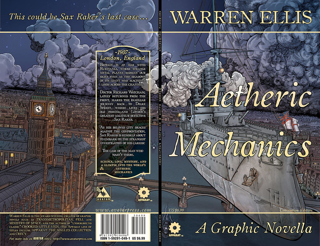 AETHERIC MECHANICS GN Convention cover