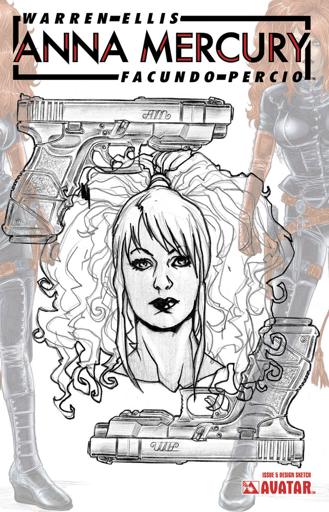 ANNA MERCURY #5 Design Sketch Order incentive