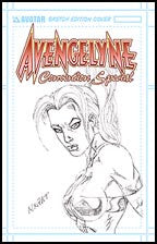 Avengelyne Convention Sp. Mychaels Sketch Ed.