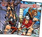 Avengelyne/Shi Ruby Red Convention Set