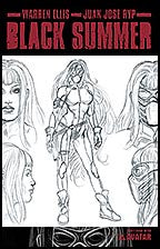 BLACK SUMMER #2 Design Sketch Cover