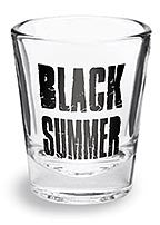 BLACK SUMMER Shot Glass