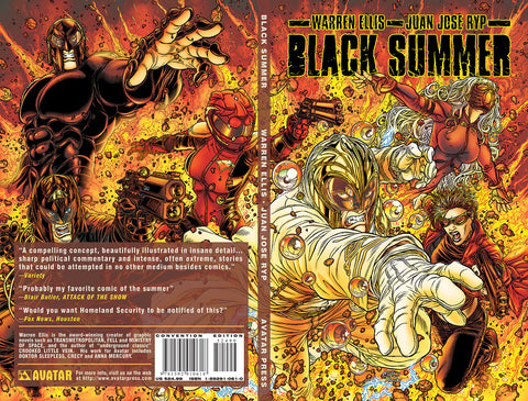 BLACK SUMMER TPB Convention Edition