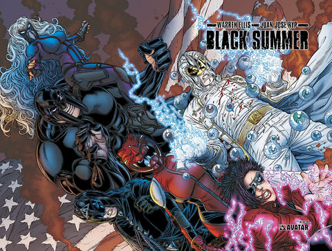 BLACK SUMMER Hardcover