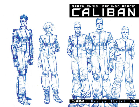 CALIBAN #2 Design Sketch