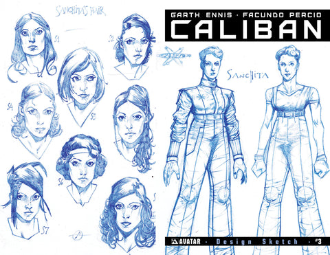 CALIBAN #3 Design Sketch